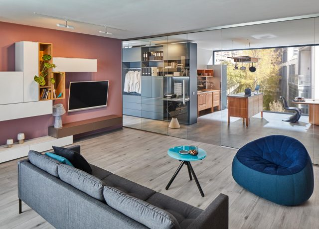 Modern living space design