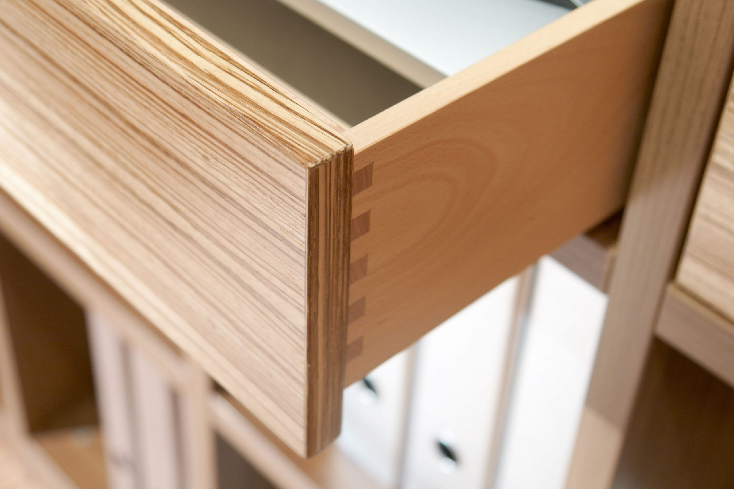 Smooth-running drawers made to individual specifications